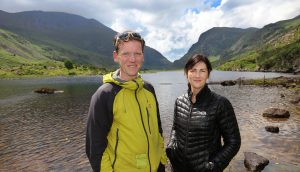 Piaras and Catherine Kelly are extremely passionate about what they do and take great delight in guiding, informing about and showing off the spectacular mountains around Killarney and of Kerry Piaras and Catherine Kelly of KerryClimbing, a family run business and leading provider of guided Carrauntoohil hikes and climbs