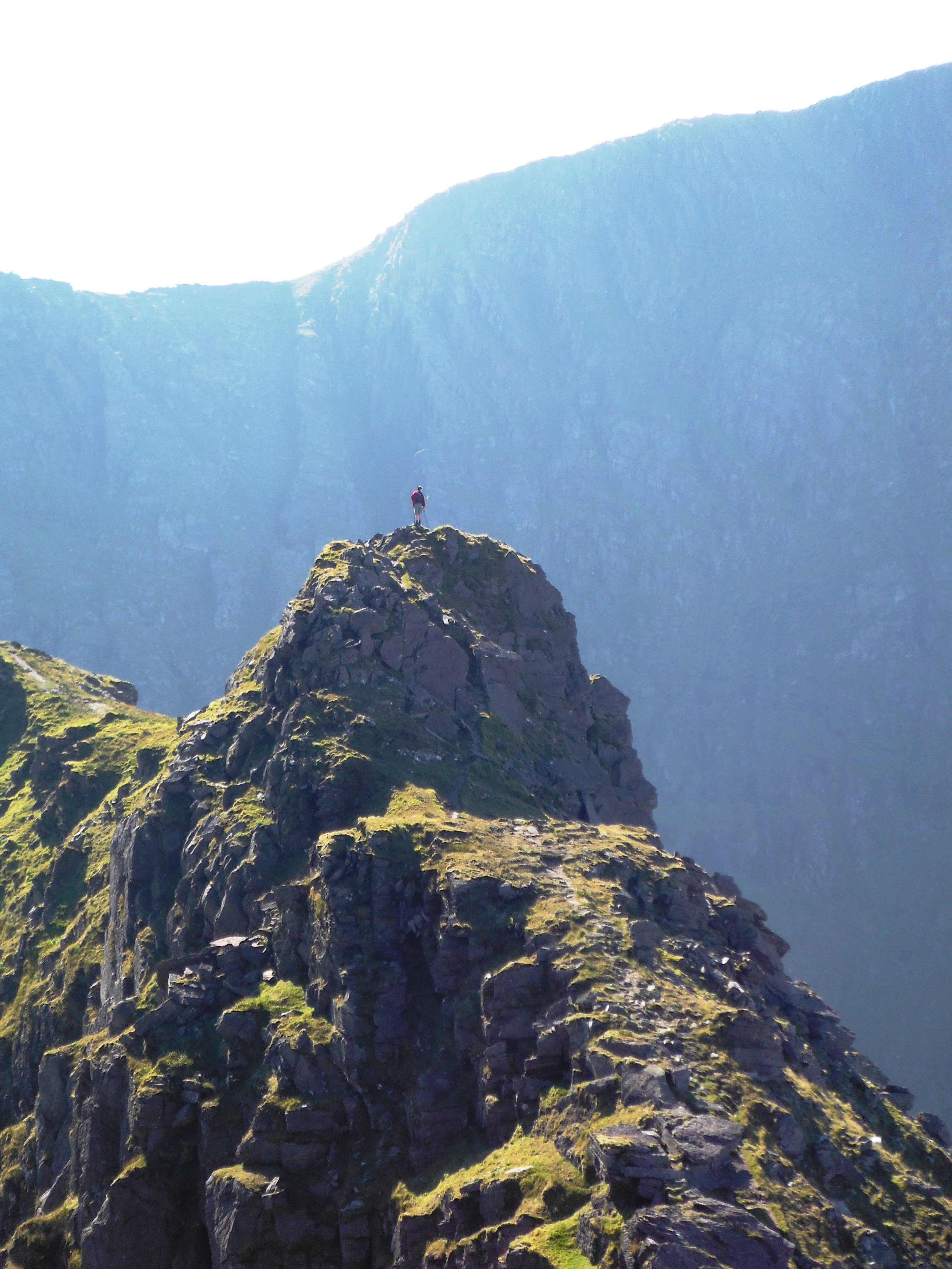 Scrambling the classic Binn Chaorach ridge