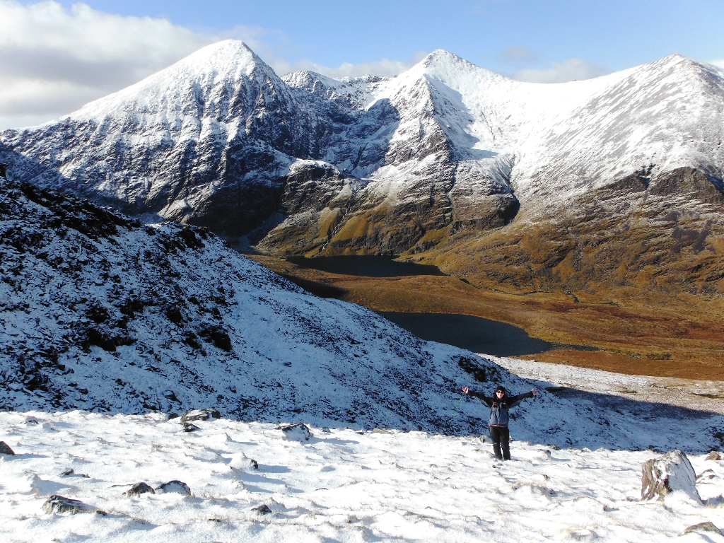 Winter on Carrauntoohil