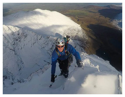 Lead guide - Piaras Kelly is extremely passionate about what he does and takes great delight in guiding, informing about and showing off the spectacular mountains around Killarney and of Kerry