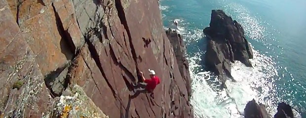 rock climbing course video