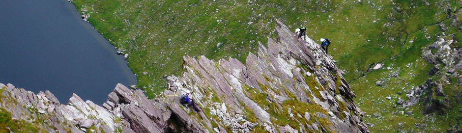 Guided Scrambling On Carrauntoohil Including Howling Ridge