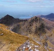 Cruach Mhór, Big Gun and Cnoc na Péiste ridge