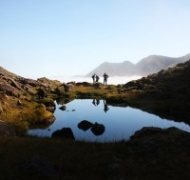 A still morning in the Reeks