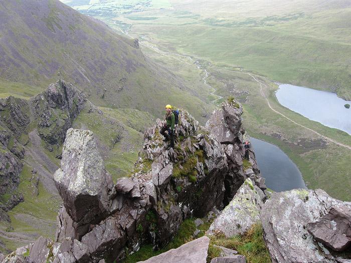 Climbing Howling Ridge