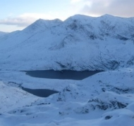 Winter in the Reeks