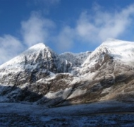 Winter snows on Carrauntoohil