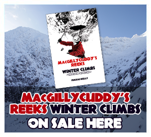 MacGillycuddy's Reeks winter climbing guide on sale