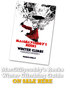 MacGillycuddy Reeks winter climbing guide