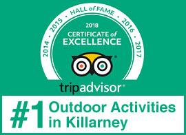 Kerry Climbing Trip Advisor Hall of Fame