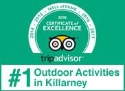 Kerry Climbing Trip Advisor Hall of Fame