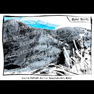 Kerry Climbing Alpine Reeks poster