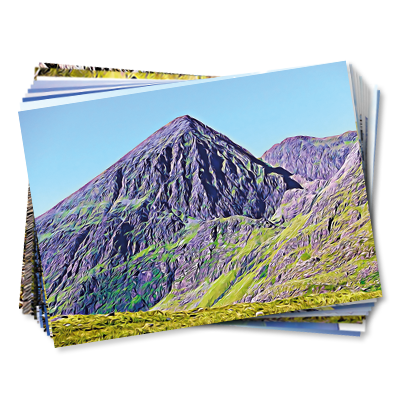 Set of 10 Kerry Climbing postcards