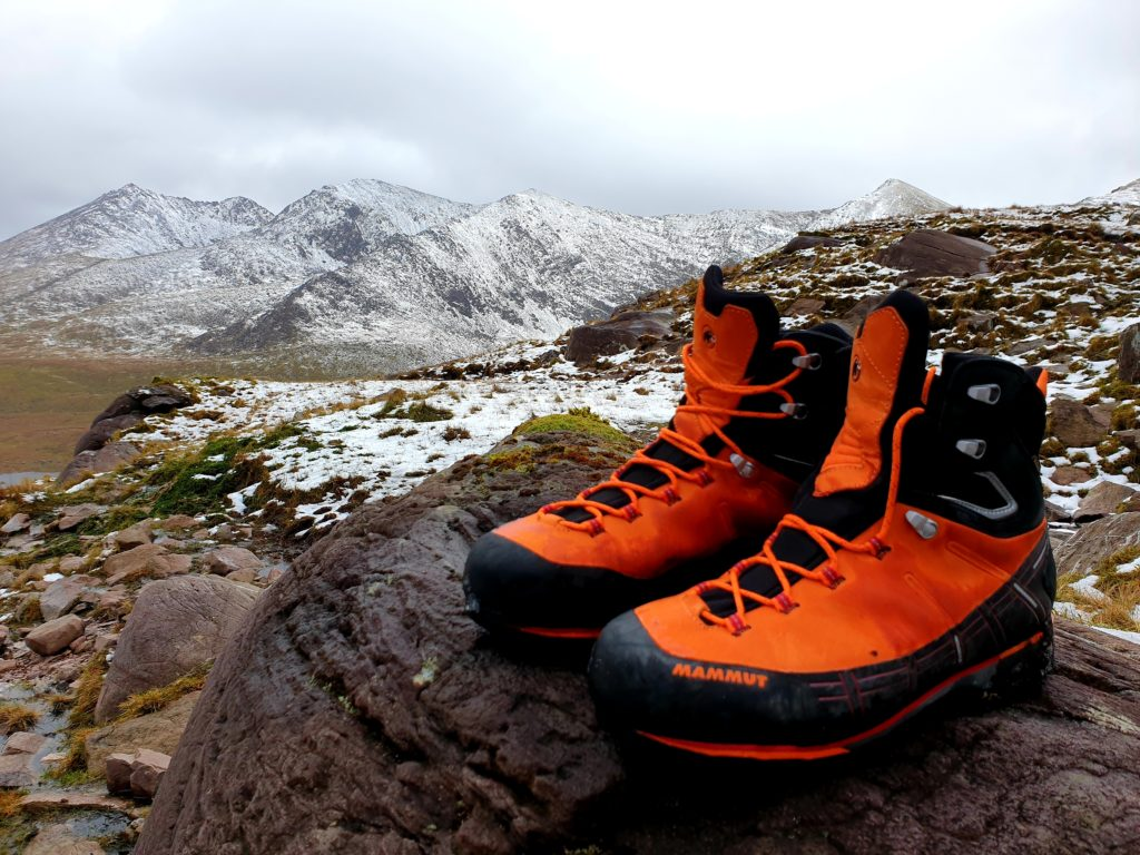 88b8640944b Crampon compatable Mammut Kento GTX Mountaineering boots trial test