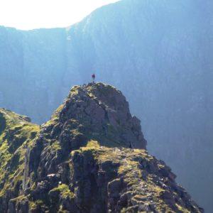 Scrambling the classic Binn Chaorach ridge