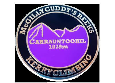 Kerry Climbing badge
