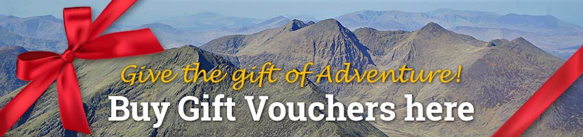 Kerry Climbing Gift Vouchers