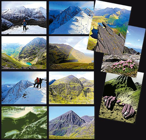Kerry Climbing set of postcards