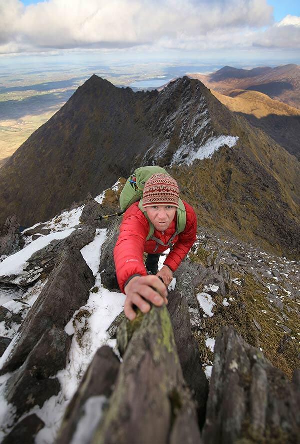 Piaras Kelly Kerry Climbing
