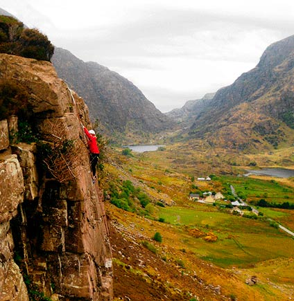 Rock Climbing Gap of Dunloe