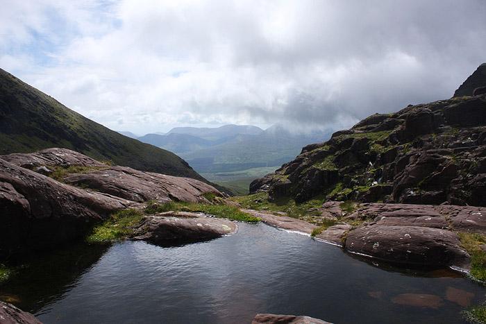 Mountain pool on Mount Brandon