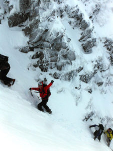 Winter Skills and Curve Gully ascent