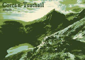 """Carrauntoohil """"Green Shade"""" postcard"""