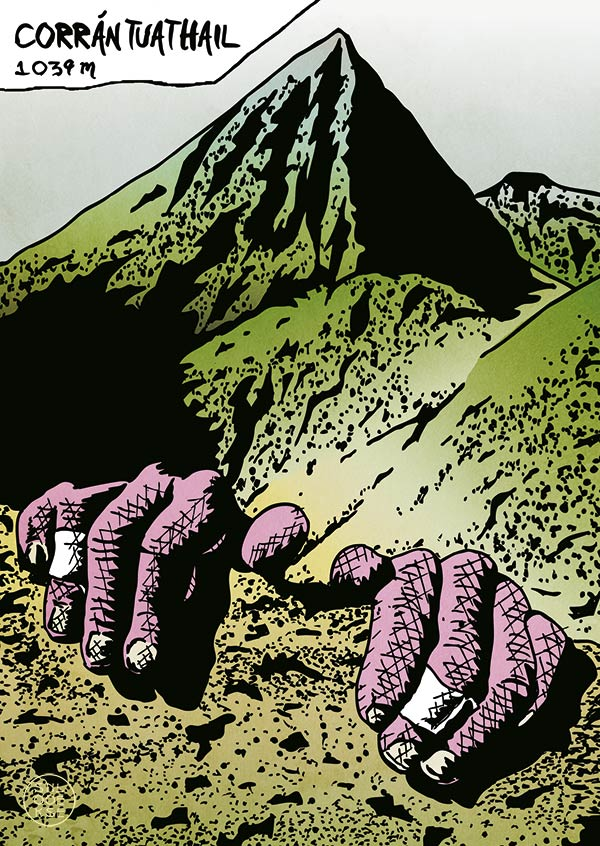 Howling Ridge postcard